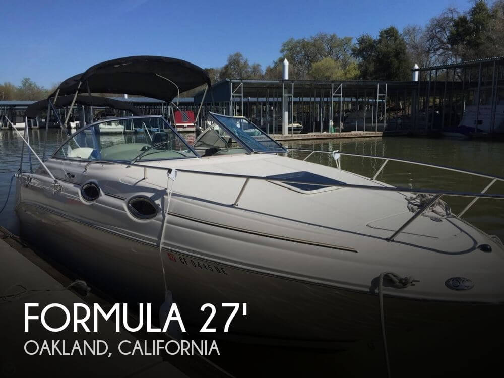 Used Formula Boats For Sale in Santa Rosa, California by owner | 2000 Formula 27