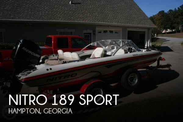 Used Boats For Sale in Macon, Georgia by owner   2007 Nitro 19