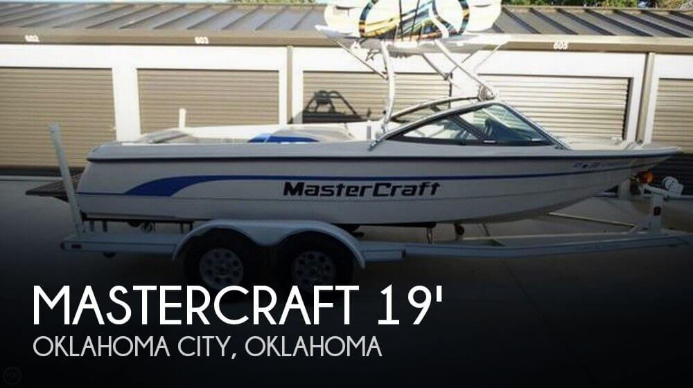 Used Mastercraft Ski Boats For Sale in Oklahoma by owner | 1998 Mastercraft 19