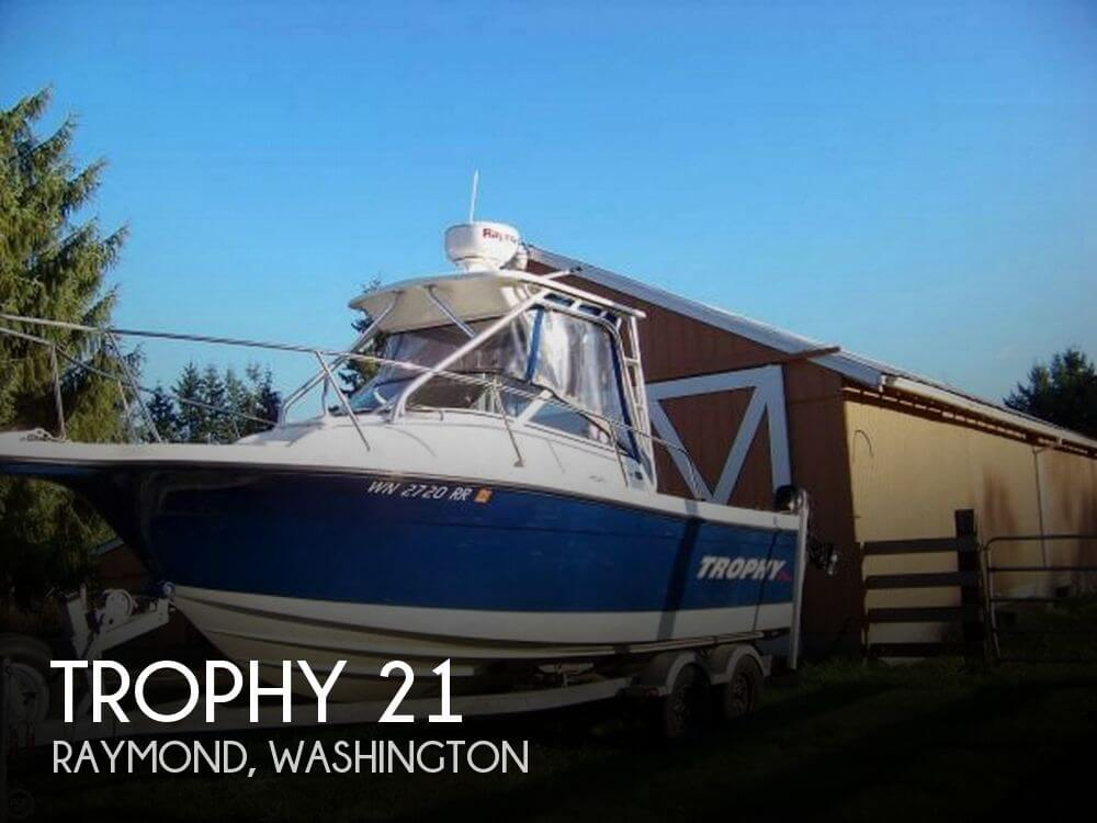 Used Ski Boats For Sale in Washington by owner | 2011 Trophy 21