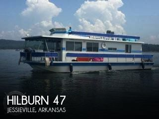 Used Houseboats For Sale in Arkansas by owner | 1983 Hilburn 47