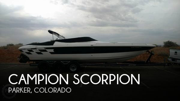 Used Boats For Sale in Colorado Springs, Colorado by owner | 2002 30 foot Campion Scorpion