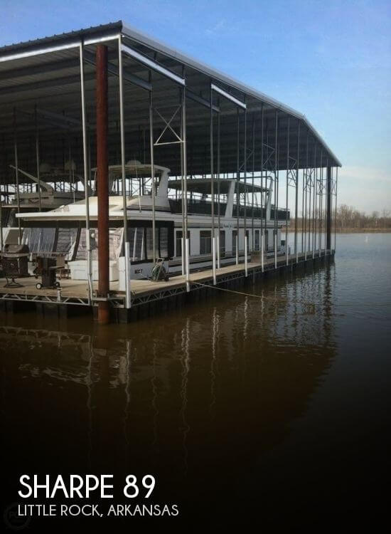 Used Houseboats For Sale by owner | 2004 Sharpe 89