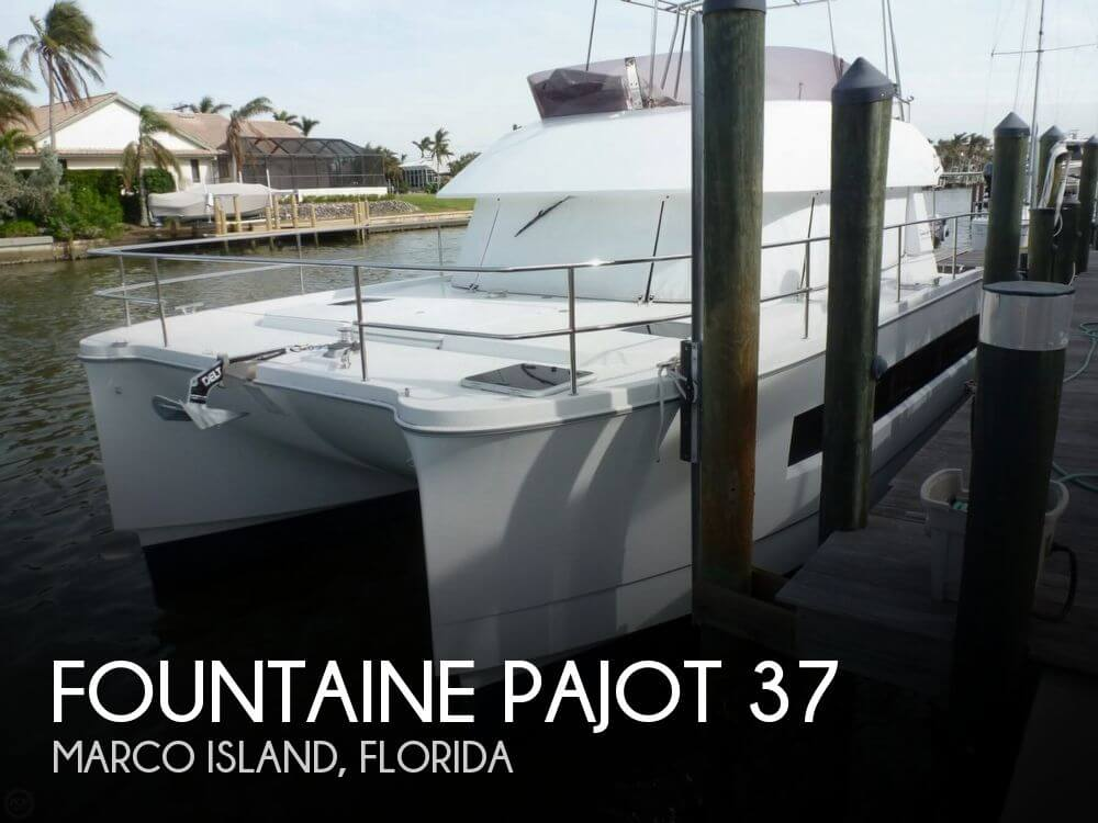 Used Fountain Boats For Sale by owner | 2016 Fountaine Pajot 37