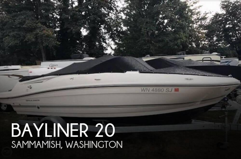 Used Bayliner Boats For Sale in Washington by owner | 2016 Bayliner 20