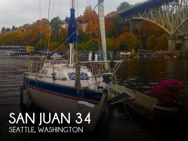 Used Sailboats For Sale in Washington by owner   1981 San Juan 34