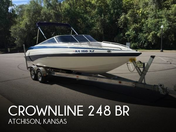 Used Boats For Sale in Kansas by owner | 1998 Crownline 24