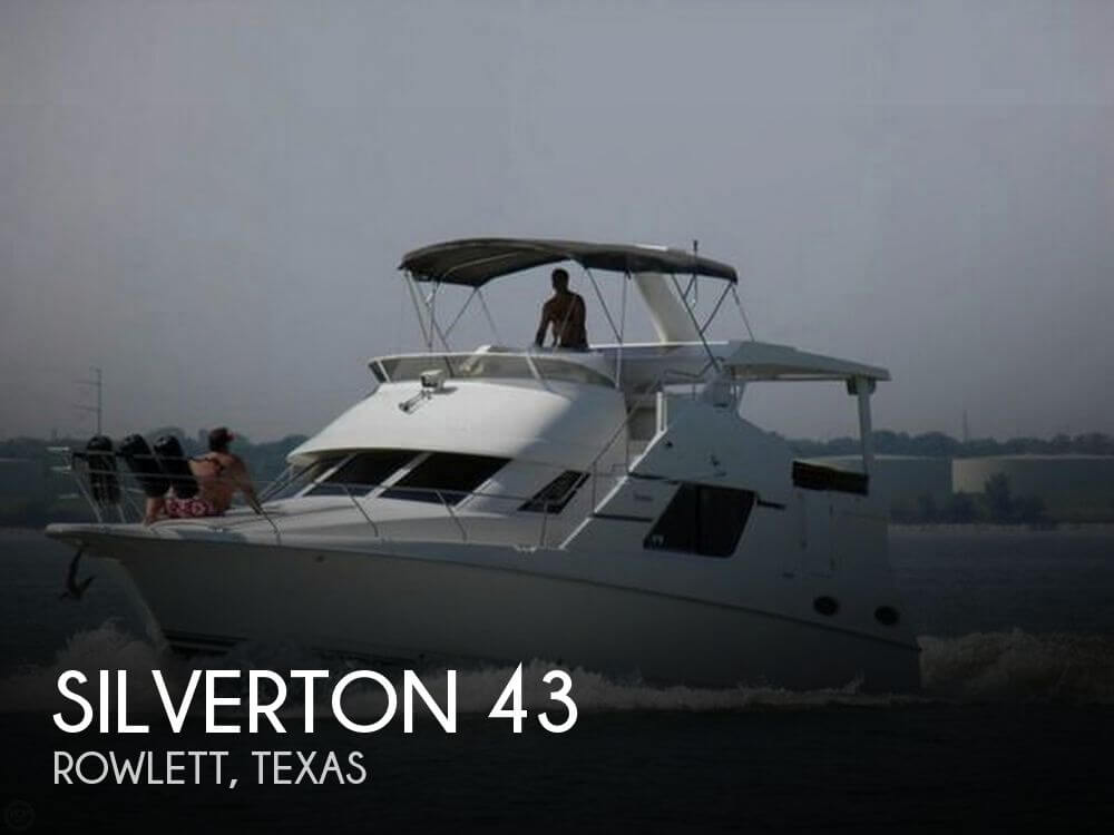 Used Silverton Motoryachts For Sale by owner   1997 Silverton 43