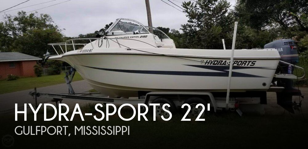 Used Power boats For Sale by owner | 1996 Hydra-Sports 22