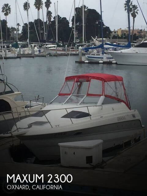 Used Maxum Boats For Sale in California by owner | 1993 Maxum 23