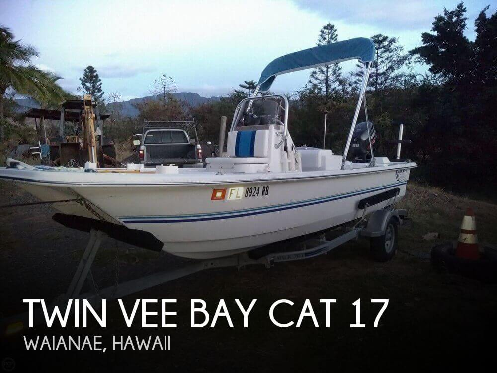 Used Boats For Sale in Honolulu, Hawaii by owner | 2016 Twin Vee 17