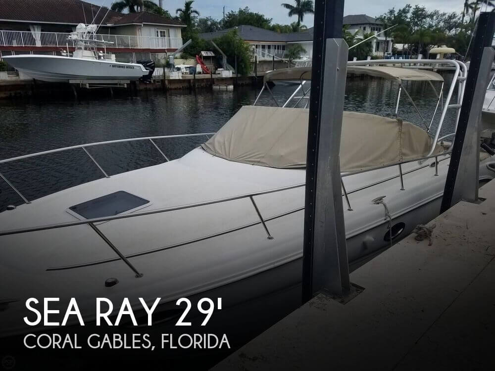 Used Sea Ray 29 Boats For Sale by owner | 2002 Sea Ray 29
