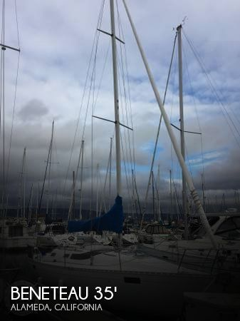 Used Boats For Sale in Santa Cruz, California by owner | 1989 Beneteau 35