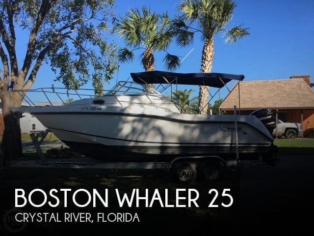 Used Boston Whaler Boats For Sale in Florida by owner | 2003 Boston Whaler 25