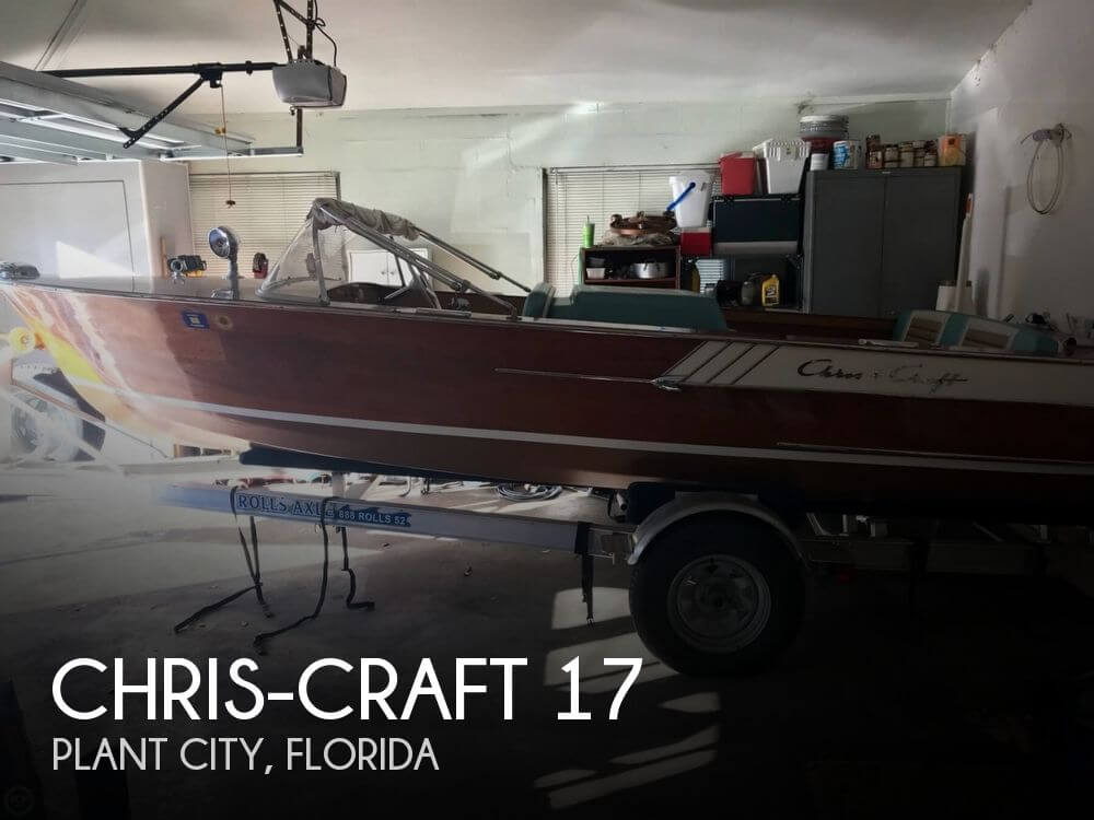 Used Chris Craft Ski Boats For Sale by owner | 1961 Chris-Craft 17