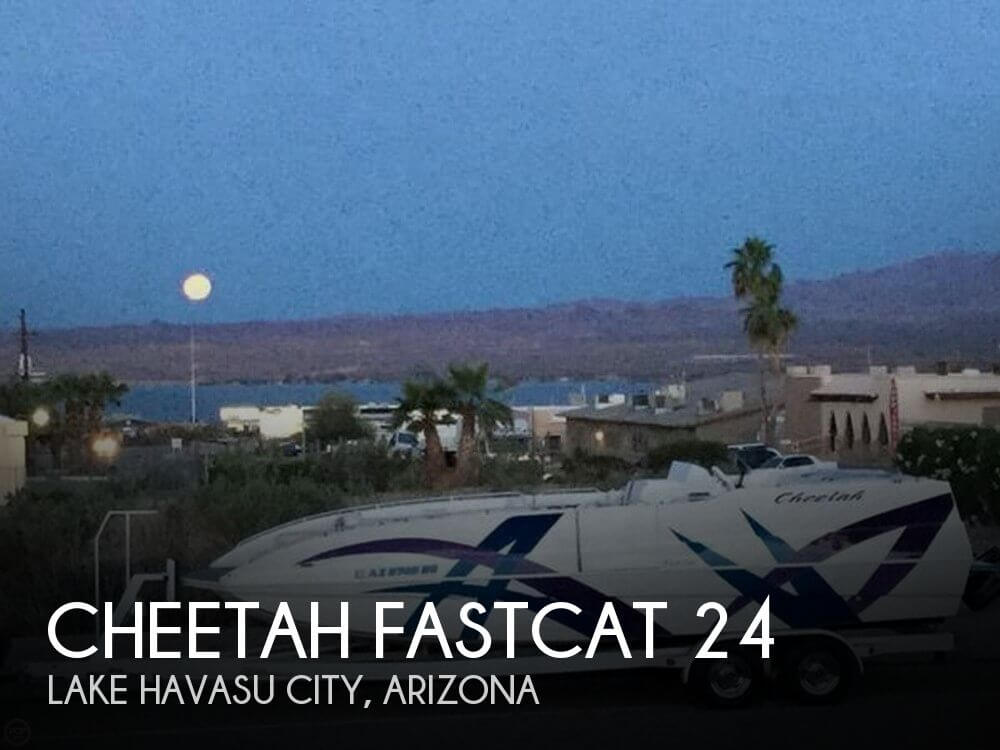 Used Deck Boats For Sale in Arizona by owner | 2004 Cheetah 24