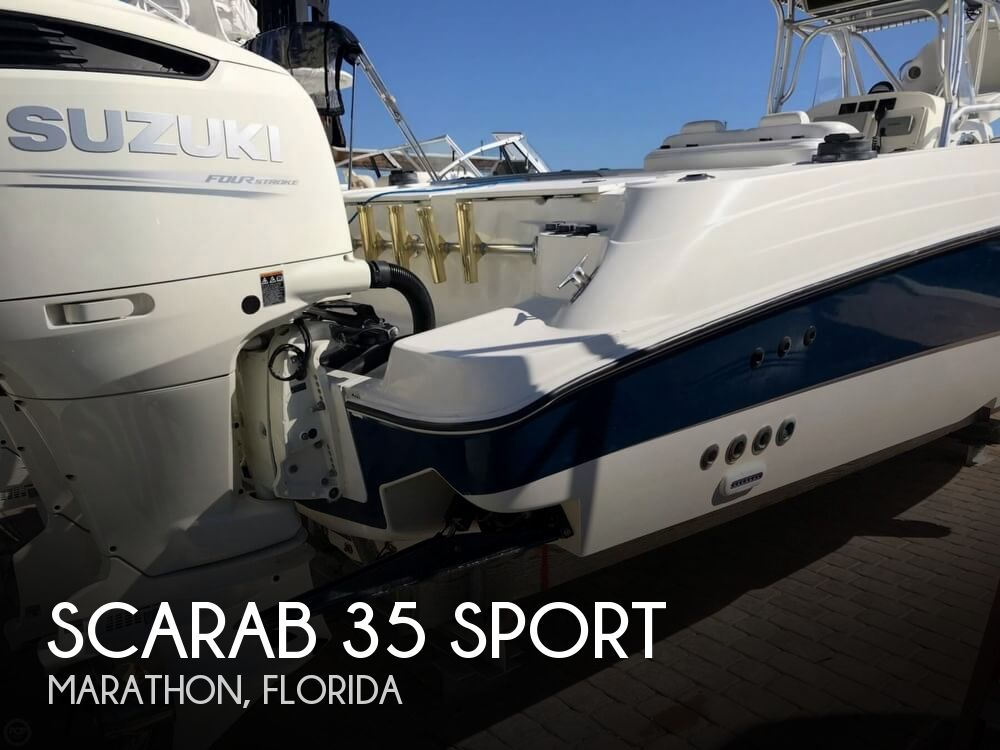 2002 SCARAB 35 SPORT for sale