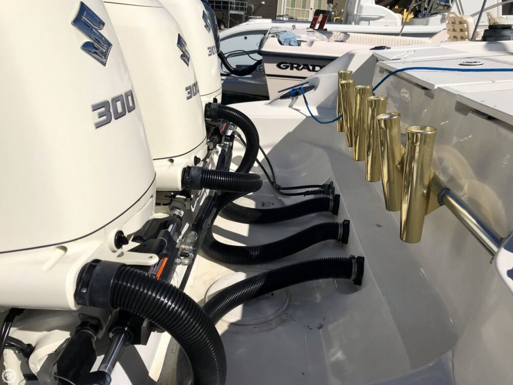 2002 Scarab boat for sale, model of the boat is 35 Sport & Image # 32 of 40