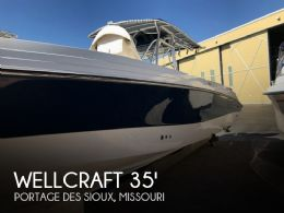 2002 Wellcraft 35 Scarab Sport