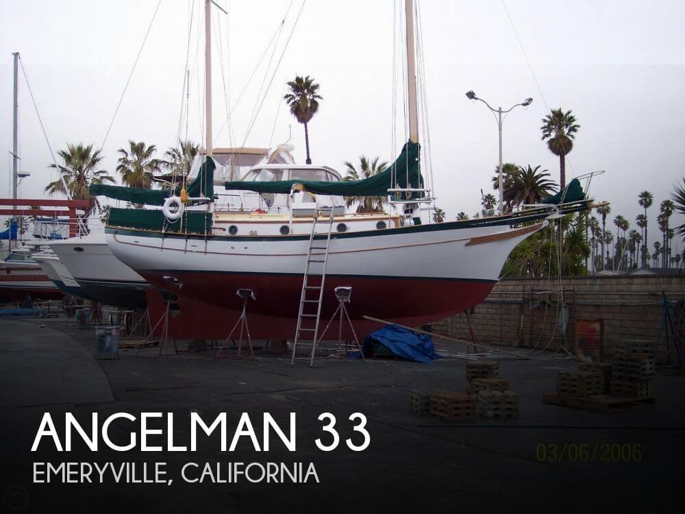 Used Sailboats For Sale in Santa Cruz, California by owner | 1969 Angelman 33
