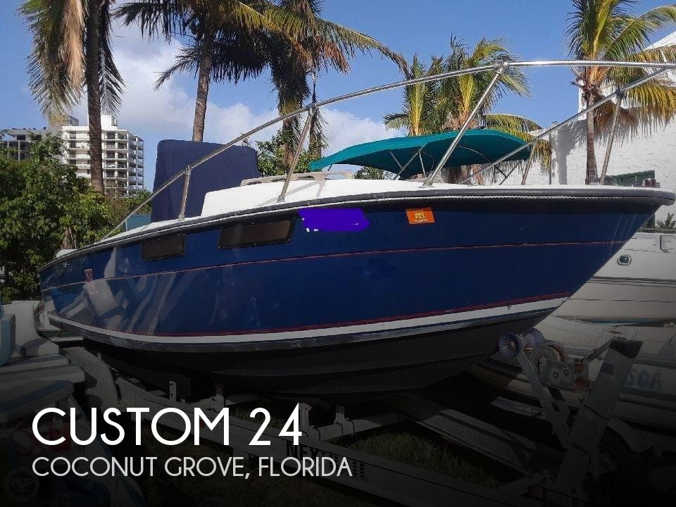 1978 Custom boat for sale, model of the boat is 24 & Image # 1 of 41