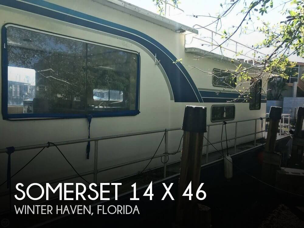 Used Houseboats For Sale in Florida by owner | 1983 Somerset 46