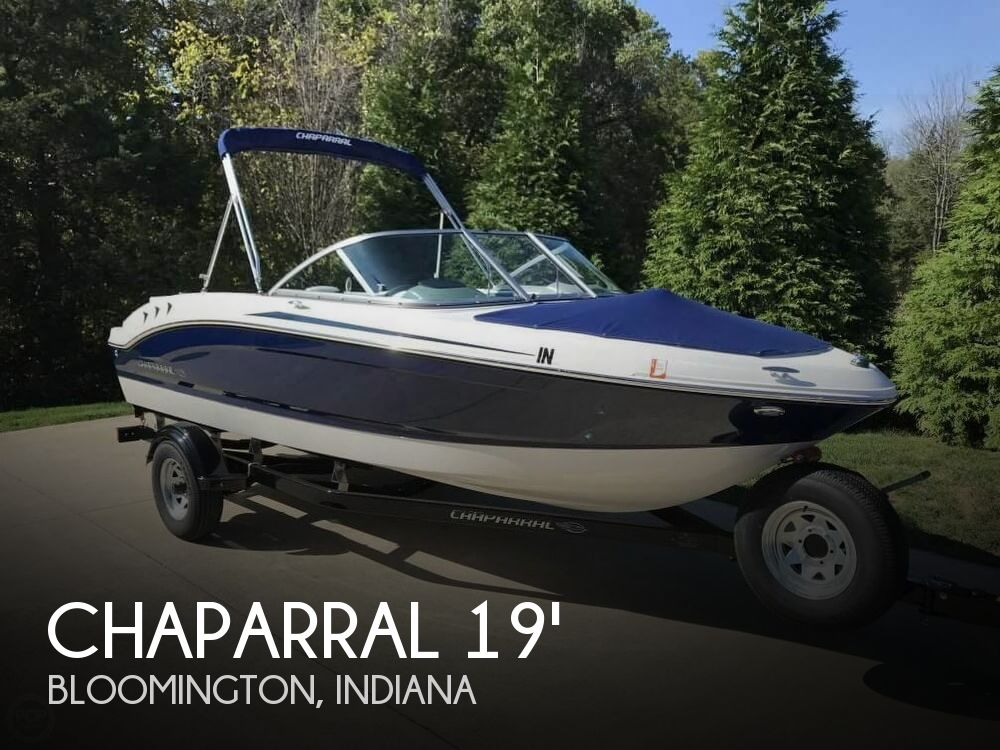 2017 Chaparral boat for sale, model of the boat is 19 H2O Sport & Image # 1 of 41