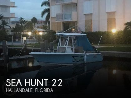 Used Sea Hunt Boats For Sale by owner | 2017 Sea Hunt 22