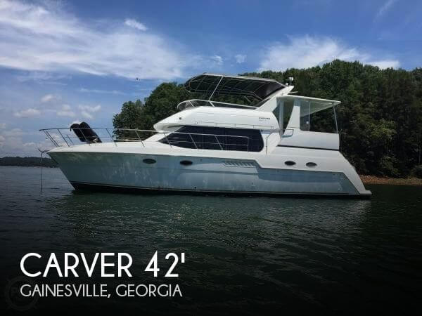 Used Carver Boats For Sale by owner | 2000 Carver 42