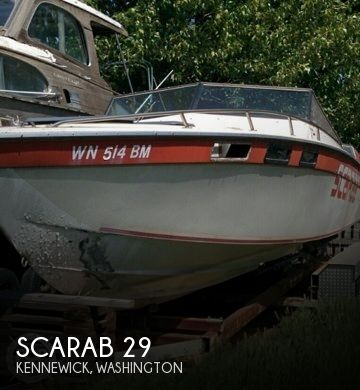 Used Boats For Sale in Kennewick, Washington by owner | 1978 Scarab 29