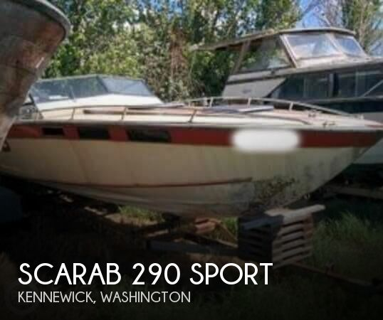 1979 SCARAB 290 SPORT for sale