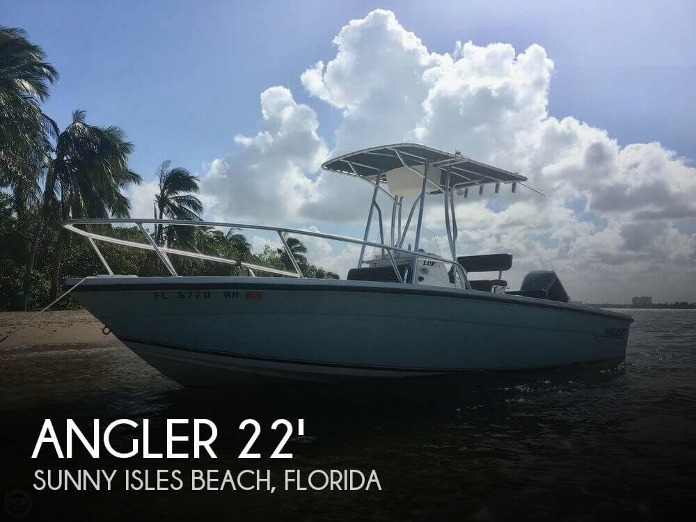 Used Angler Boats For Sale by owner | 2007 Angler 22