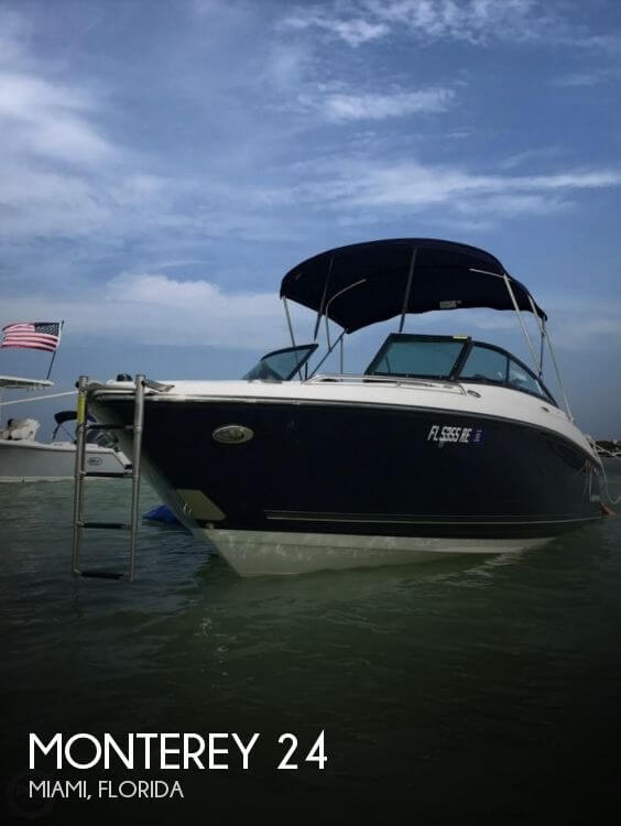 Used Monterey Boats For Sale by owner | 2016 Monterey 24