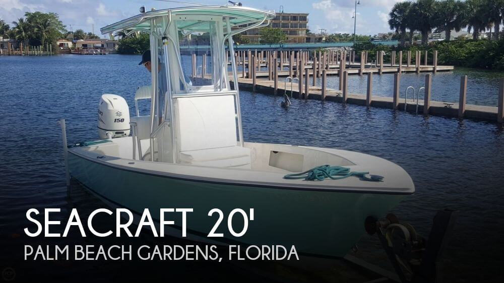 Used SEACRAFT Boats For Sale by owner | 1973 SeaCraft 20 SF Potter Hull
