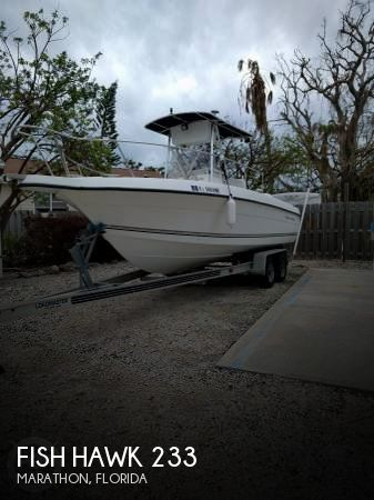 Used Fish Hawk Boats For Sale by owner | 2003 Fish Hawk 24