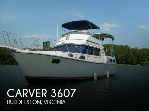 Used Carver 36 Boats For Sale by owner | 1986 Carver 36