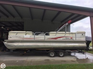Sun Tracker 25 Party Barge, 26', for sale - $16,500