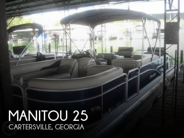 Used Pontoon Boats For Sale in Georgia by owner | 2014 Manitou 25