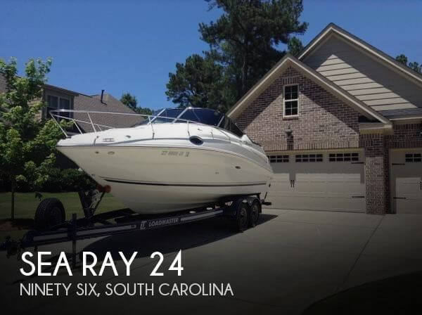 Used Boats For Sale in Greenville, South Carolina by owner | 2008 Sea Ray 24