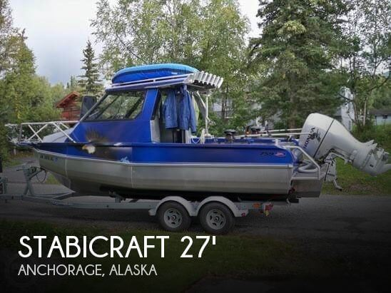 Used Boats For Sale in Alaska by owner | 2009 Stabicraft 759 Supercab S