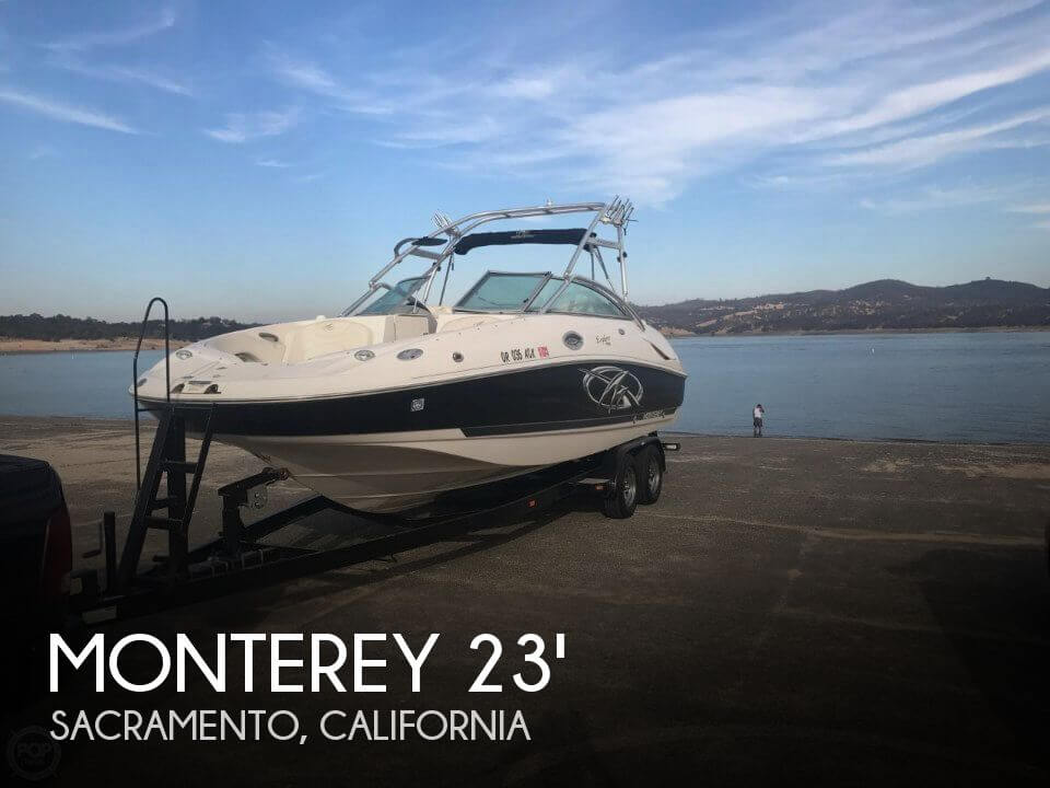 Used Deck Boats For Sale in California by owner | 2005 Monterey 25