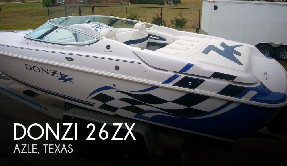 2003 Donzi 26ZX