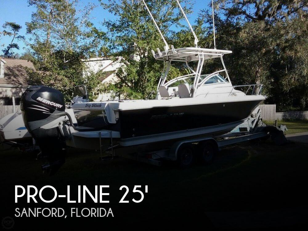 Used Pro-Line Boats For Sale by owner | 2007 Pro-Line 25