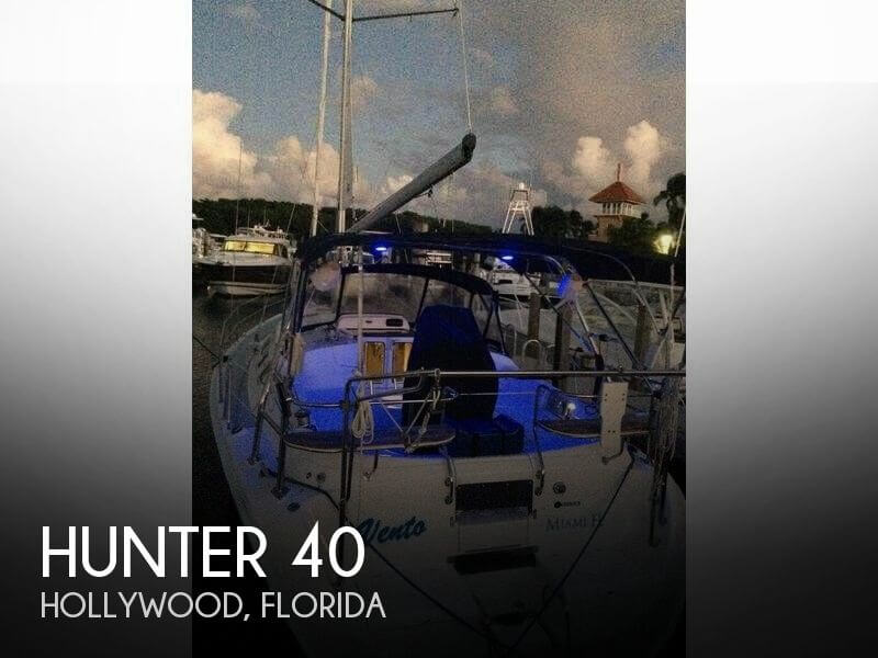 Used Hunter Sailboats For Sale in Florida by owner | 2004 Hunter 40