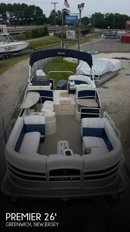 Used Pontoon Boats For Sale by owner | 2014 Premier Pontoons 26