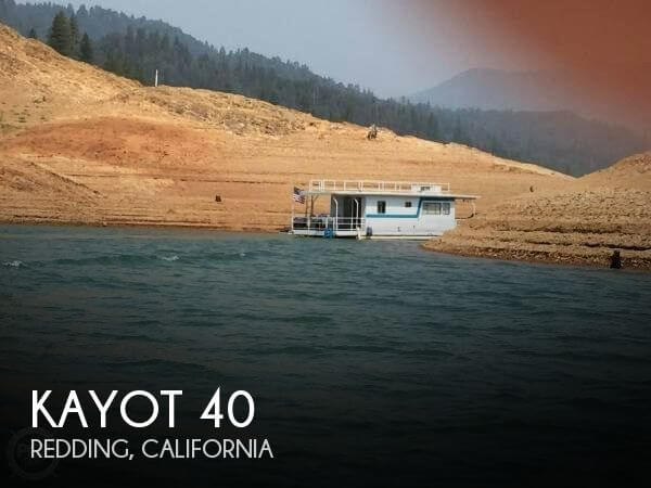 Used Houseboats For Sale in California by owner | 1977 Kayot 40