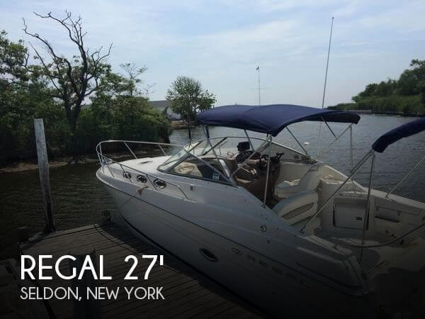 Used Regal Boats For Sale in New York by owner | 2003 Regal 27