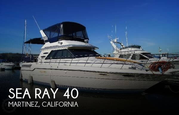 Used Power boats For Sale in Santa Rosa, California by owner | 1986 Sea Ray 40