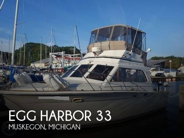 Used Boats For Sale in Grand Rapids, Michigan by owner | 1985 Egg Harbor 33