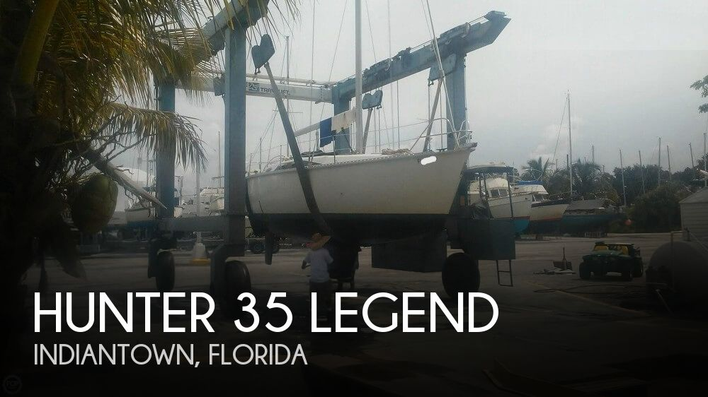 Used Hunter Sailboats For Sale in Florida by owner | 1988 Hunter 35